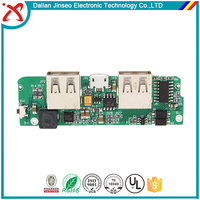 UL approved power bank 94vo printed circuit board