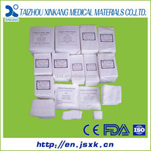 100% cotton gauze swab folding machine made in China with CE&FDA