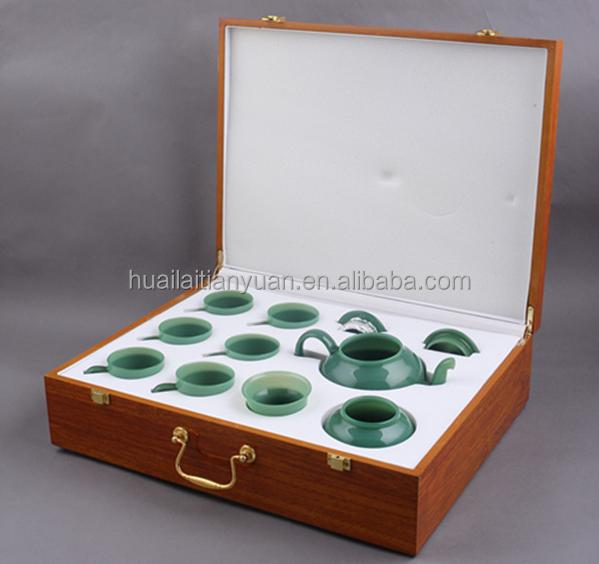 China factory non-toxic pyrex lucky clear glass teapot purple tea set