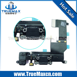 Wholesale For iPhone 5s Charging Port Flex Cable Dock Connector USB Port Replacement