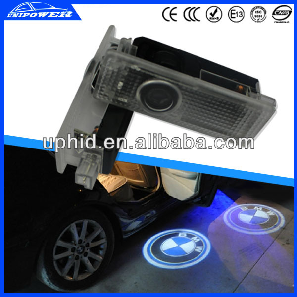 New LED luxurious car door logo light step courtesy laser projector logo light