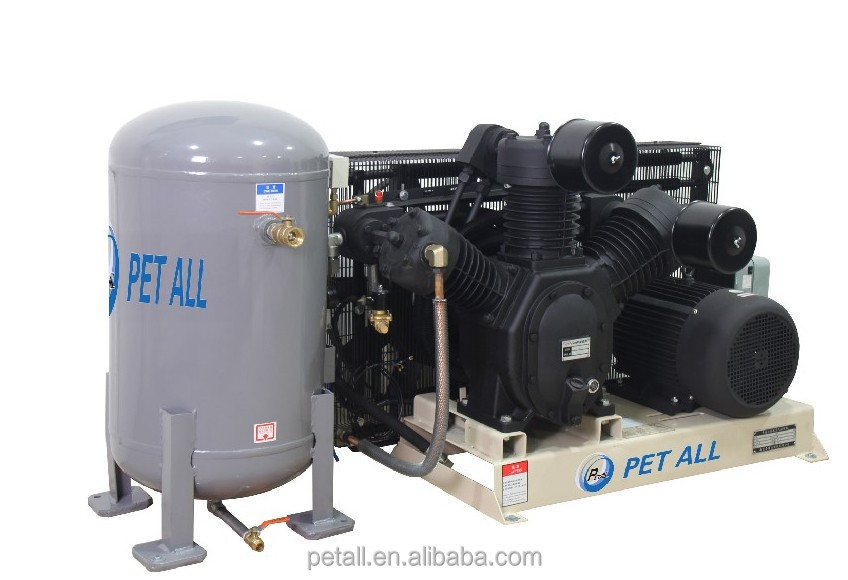 15KW 30bar high pressure air compressor for PET machine