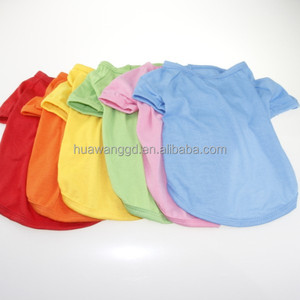 Wholesale blank t shirts for pet dog, blank t shirt China wholesale, blank dog t shirts, pet summer clothes