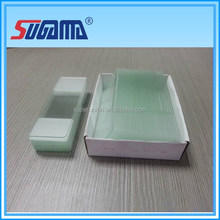 Disposable microscope glass slide for laboratory use factory