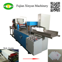 High quality MG paper napkin making machine price