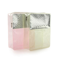 high-end 2015 clear travel cosmetic pouch