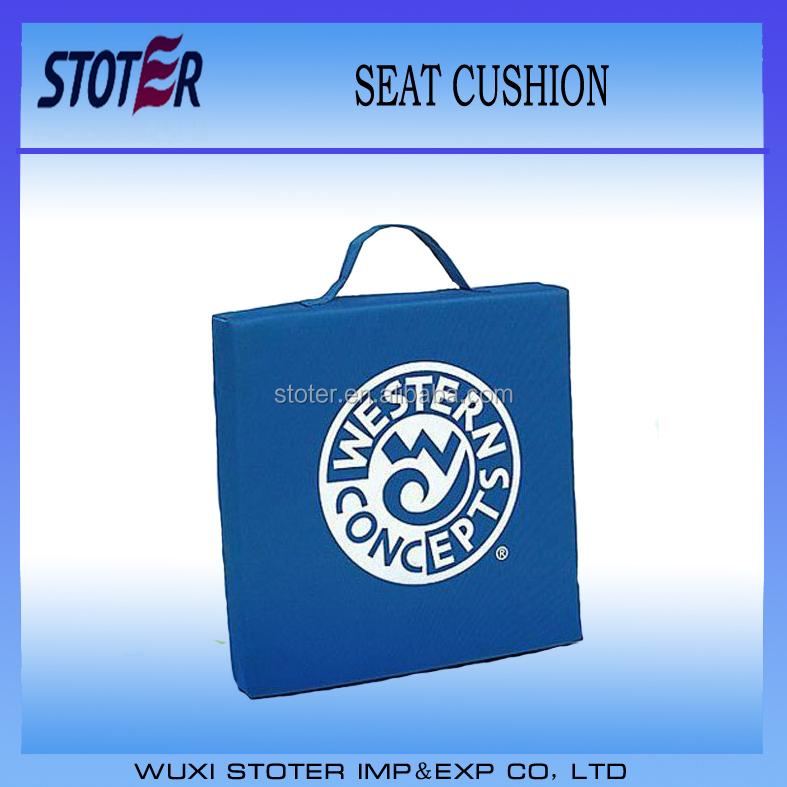 Promotion Polyester Foam Stadium Seat Cushion