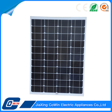 Famous Brand Achieve High Efficiency 50W Photovoltaic Solar Panel