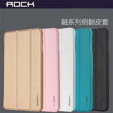 Rock Slim Stand PU Leather Smart Cover Folio Case For Apple iPad Air 2