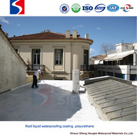 Polyurethane coating plastic roofing material for construction building