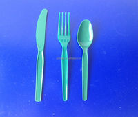 New model color spoon fork knife disposable plastic cutlery