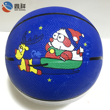 High Quality Official Size Custom Printed Rubber Basketball