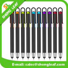 Stylus pen with highlighter bulk ,,wholesale multifunction pen stylus