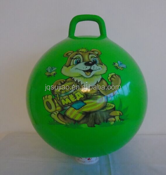 PVC inflatable space hopper ball