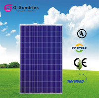 Exceptional poly 250w q-cells solar panel