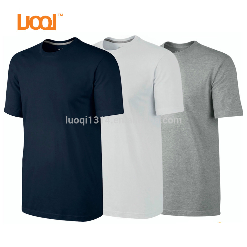 OEM High Quality New Design 180Gsm Ring-spun Cotton Custom T Shirt Cheap Price Plain Blank Wholesale T Shirt