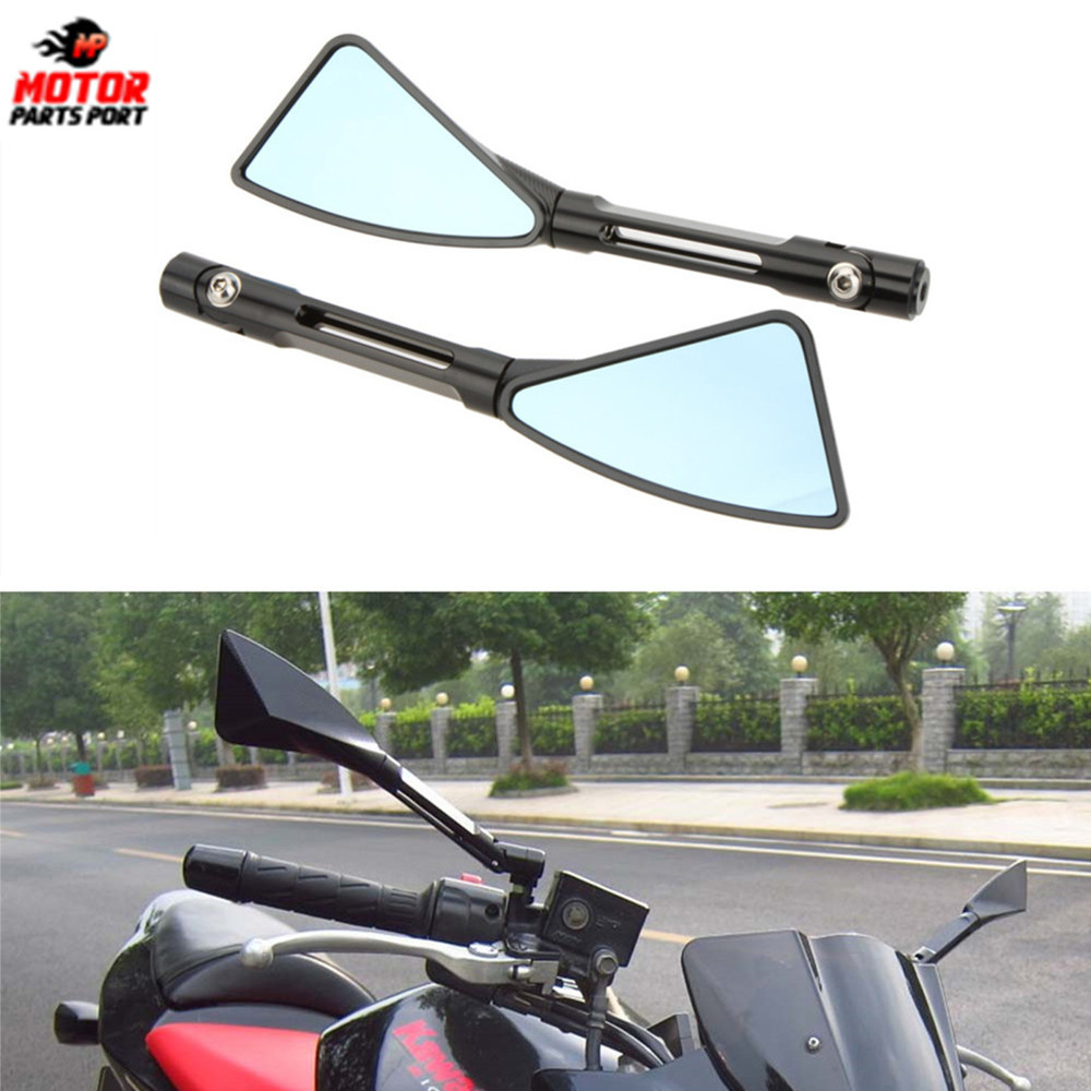 1 Pair Universal motorcycle accessories rearview mirror for Honda Yamaha Suzuki Bike