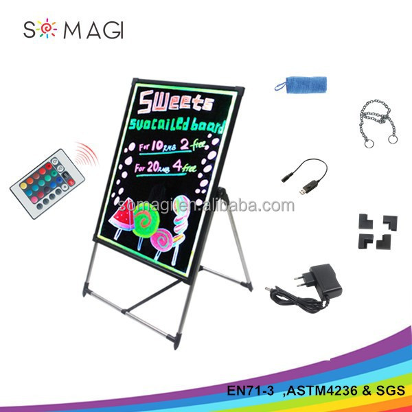 Factory wholesale high quality which passed CE & ROHS led writing board