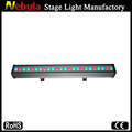 24*3w Outdoor waterproof RGB LED Wall Washer Strips flood lights (1m)