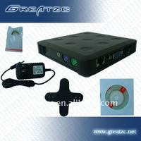 ZC-01U Cheapest and Mature Thin Client Supporting 30 Users With USB Port Used In Home,School,Office,Hotel,Industry,etc.