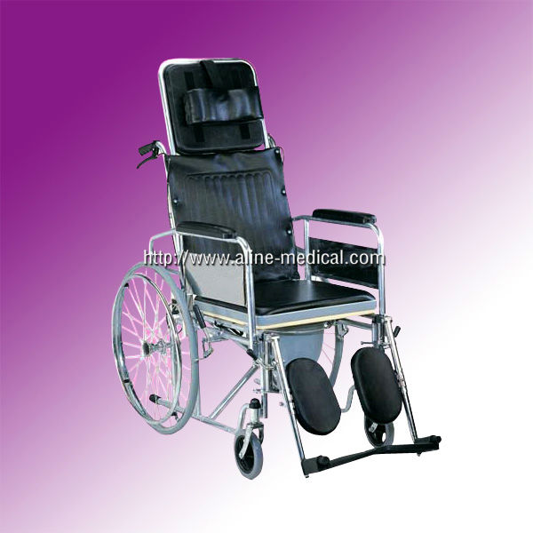 commode type wheelchair