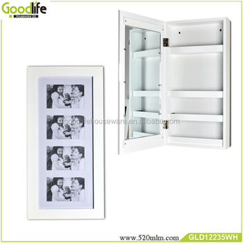 Wall mirror cabinet cheap bathroom furniture set for makeup