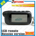 Tomahawk Z5 remote controller LCD display for two way lcd car alarm