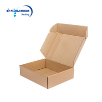 Custom Logo Printed brown Export Corrugated Cardboard Shipping Carton Boxes