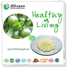 solvent residue free herb extract 95% Hesperidin from Immature Bitter Orange Citrus Aurantium Extract Powder Lower cholesterol