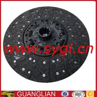 Dongfeng clutch plate FD380A-1601200