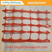 Orange Plastic snow fence From AnPing Factory