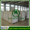 high opacity LWC Printing Paper/ light weight coated paper in reel/sheet form