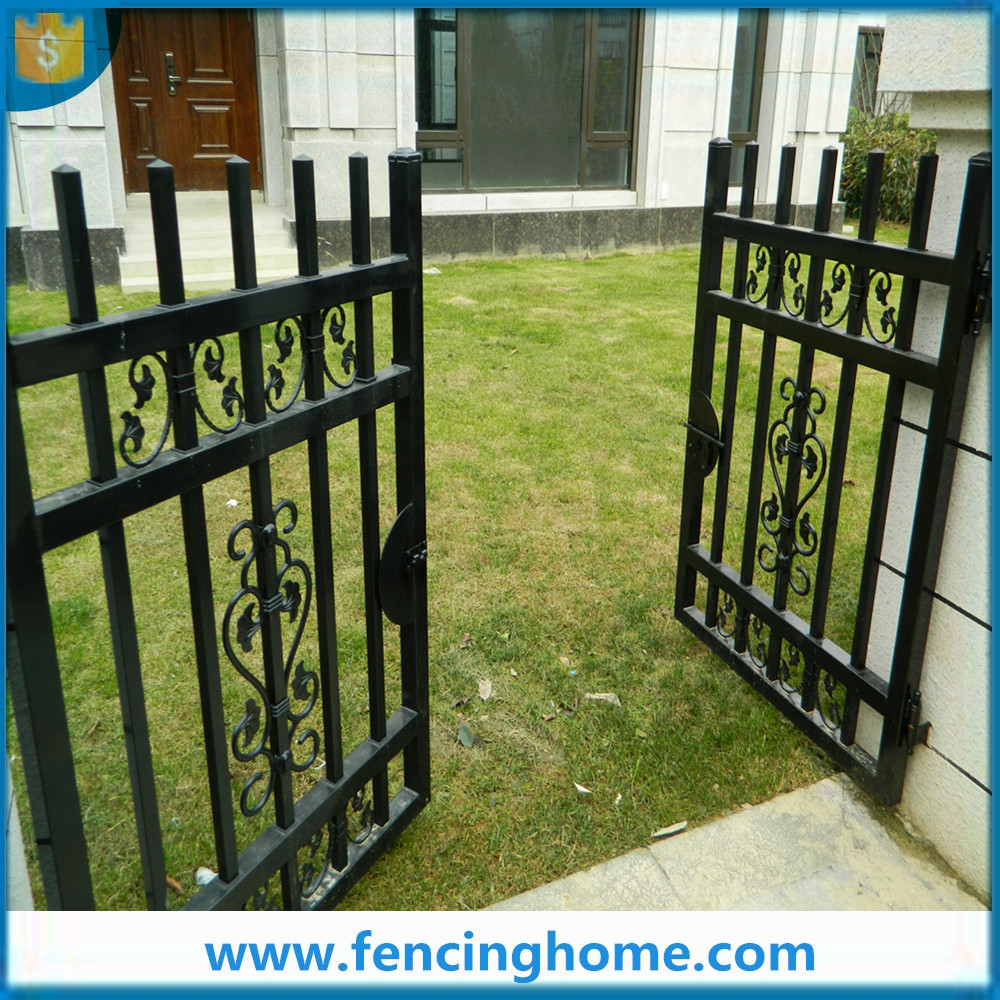 New fences styles wrought irom fencing main gate design instead of wall