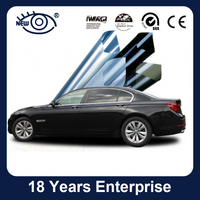 Factory wholesale price high heat rejection car window tinted solar film with 99% UV rejection