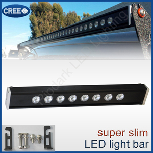 Premium choice car accessories 120w slim line led light bar Hood Mount/Grille Guard Light Bar