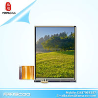 3.5 qvga car dvd player tft display module with resistive touch panel