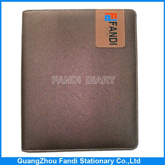 New Year Custom A5 Design PU Leather Diary Covers