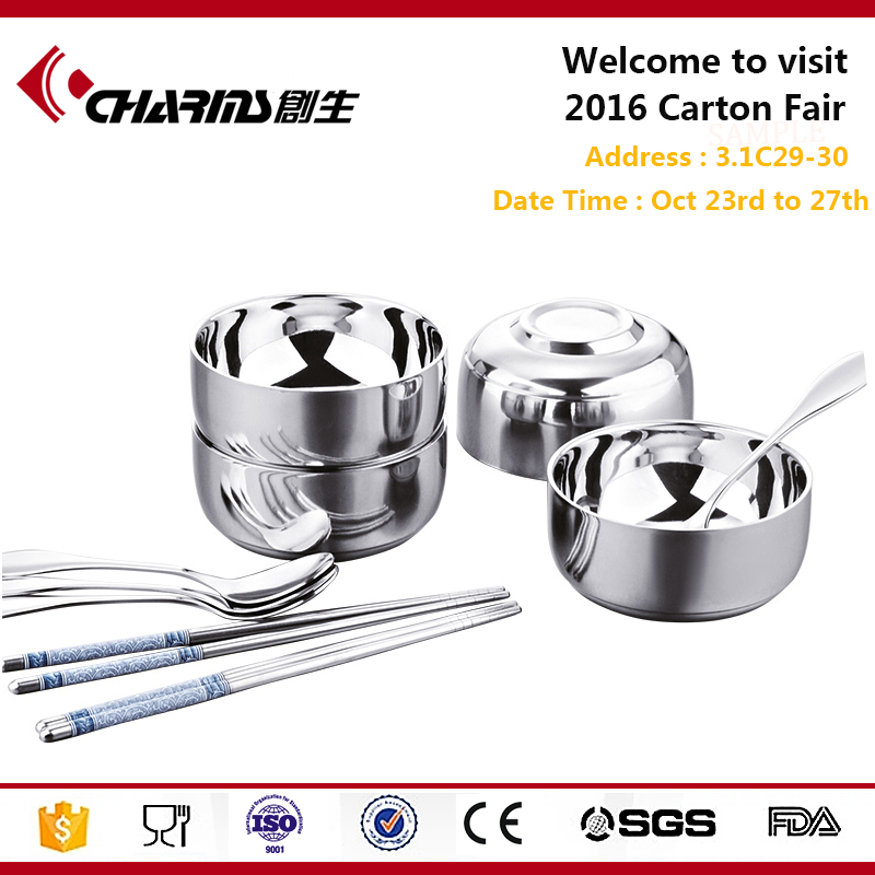 Factory Wholesale Cheap Hot Sale High Quality Used Restaurant Dinnerware Set Of Stainless Steel
