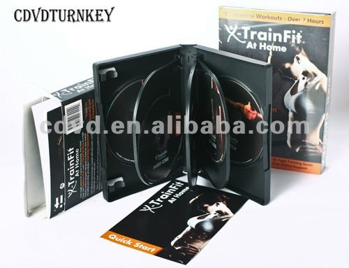 wholesale dvd movie 9.5GB with 7 dvd case packaging