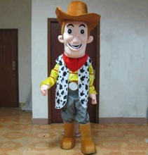 HOLA woody costume de mascotte/carnaval costume pour adulte