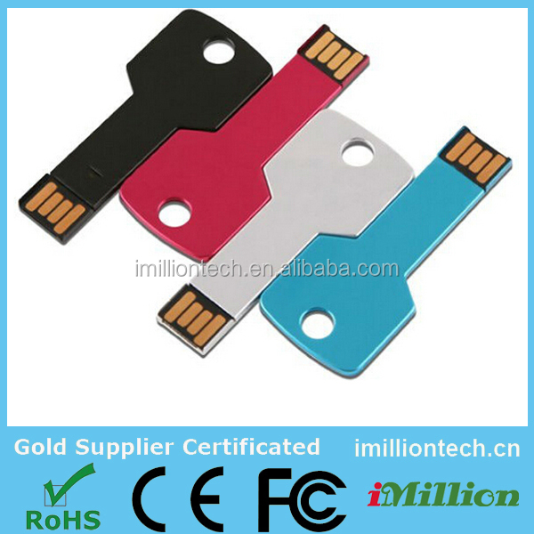 china manufacturer silver key label usb flash drive with free samples