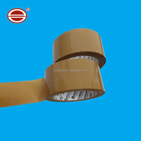 2mil 100m tan color water proof BOPP adhesive package tape