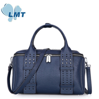 Buy direct from china wholesale lady genuine leather handbags