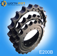 E200b excavator undercarriage track parts drive sprocket
