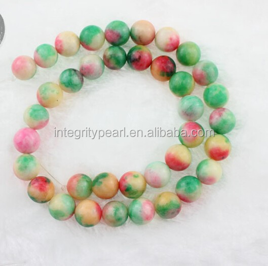 10mm beautiful jade candy color most girls love gemstone bead