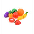 plastic kids educational fruit toy