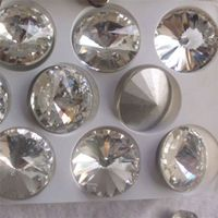 New selling super quality transparent decoration crystal rhinestone with reasonable price