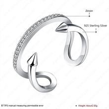hot sale fashion ring finger rings photos nice zircon ring 925 sterling silver jewelry
