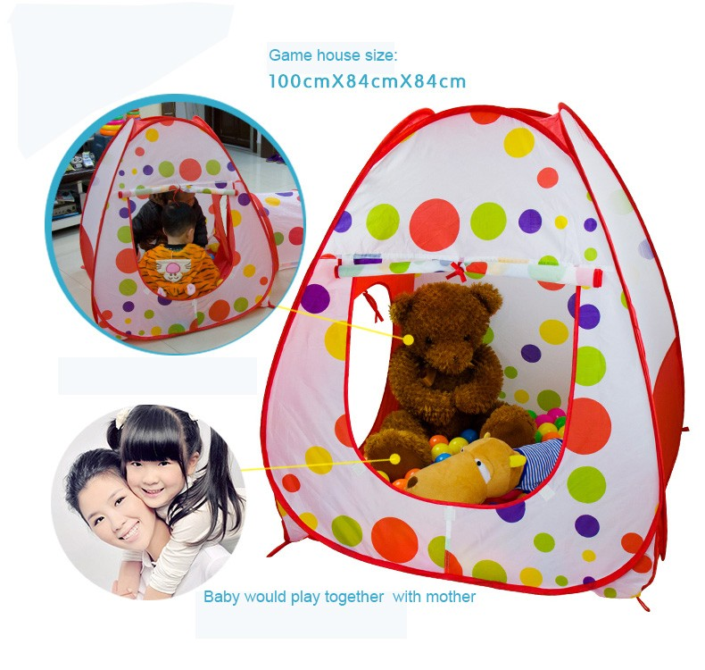 China Wholesale Children Foldable Kid Play Tent