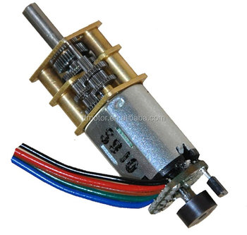 mini dc motor with encoder